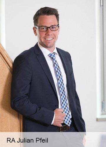 Rechtsanwalt Julian Pfeil